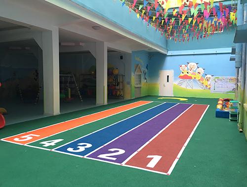 广西塑胶跑道工程幼儿园EPDM塑胶跑道