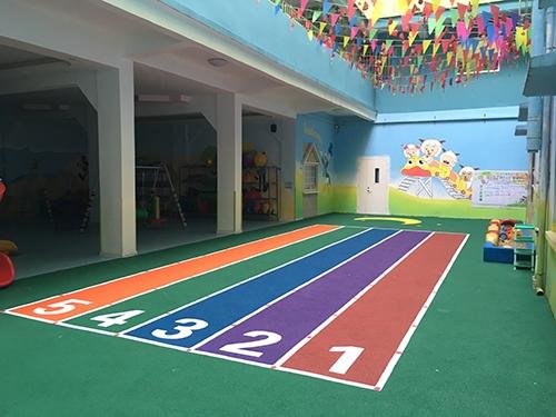 玉林市清华幼儿园-EPDM颗粒场地