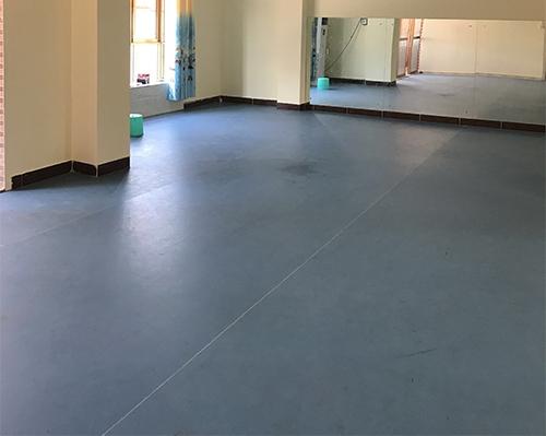 容县天天幼儿园-舞蹈房PVC塑胶地板