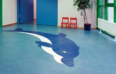 家庭pvc塑胶地板