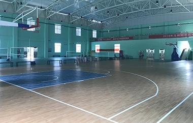 篮球场pvc塑胶地板